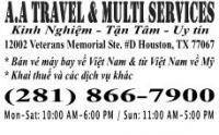 A.A TRAVEL, SERVICES